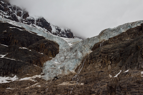 Angel Glacier next to Jasper