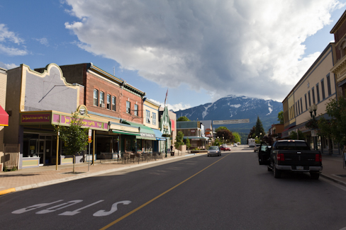 Center of Revelstoke