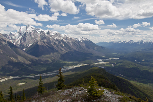Upper Mt Hunter Lookout, Yoho NP