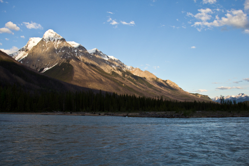 View from the Campground in Yoho NP