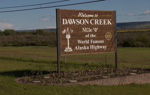 Dawson Creek - Mile 0