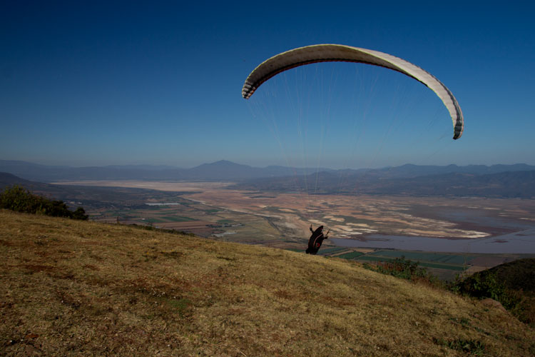 Perfect place for Paragliders