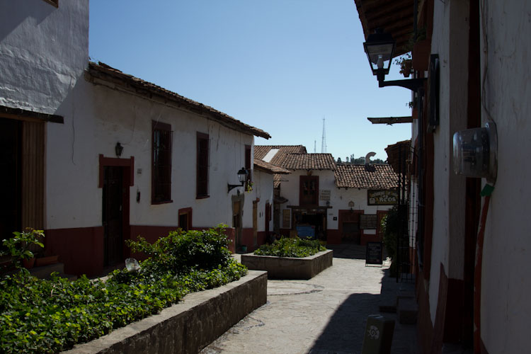 The streets of Tapalpa
