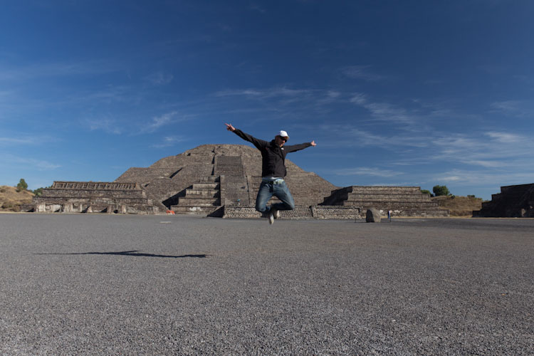 Moon Temple in Teotihuacan
