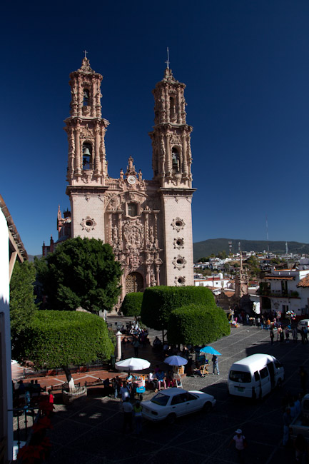 In the streets of Taxco