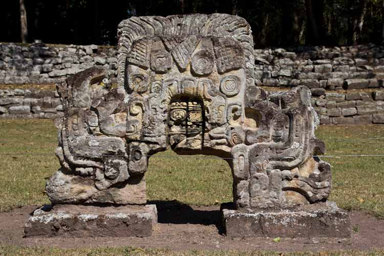 Copan Ruinas: Great sculptures