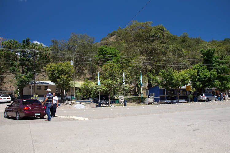 El Florido; the border to Honduras