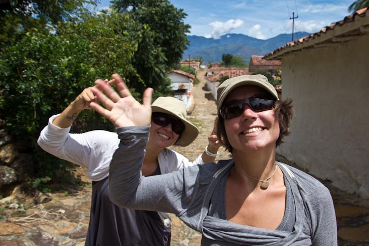 Colombia: Central Highlands - Barrichara: in Guane