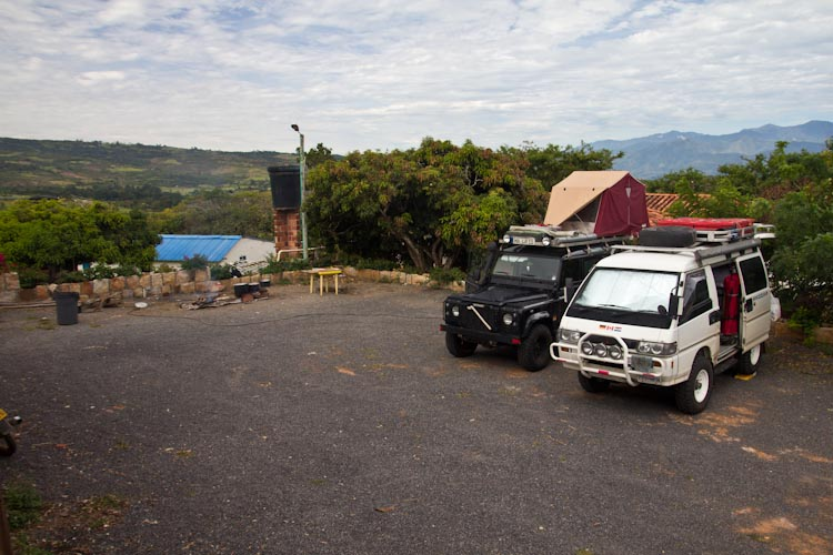 Colombia: Central Highlands - Barrichara: Campsite