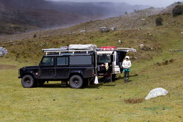 Colombia: Central Highlands -  NP Cocuy: Campsite Sector Lagunas