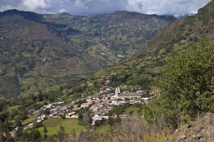 Colombia: Central Highlands -  mountain Village