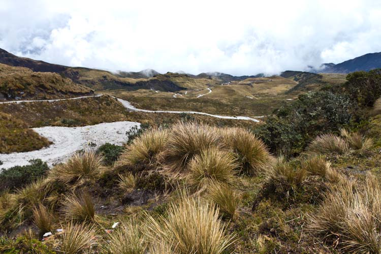 Colombia: Southern Region  - NP Purace: Mining Road