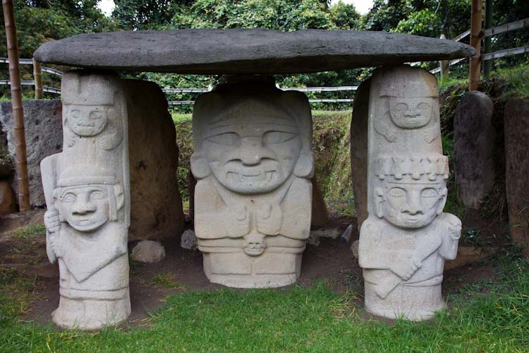 Colombia: Southern Region -  San Agustin: Statues