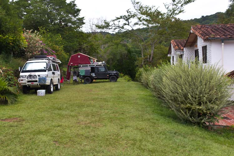 Colombia: Central Highlands - San Gil: Campsite