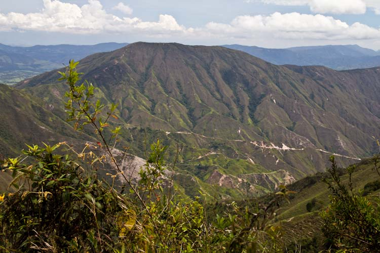 Colombia: Central Highlands - way to NP Cocuy: amazing landscape