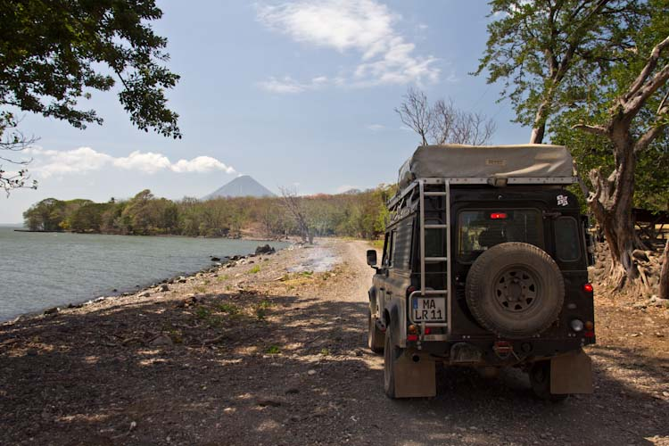 Nicaragua: Ometepe; view to the Conception