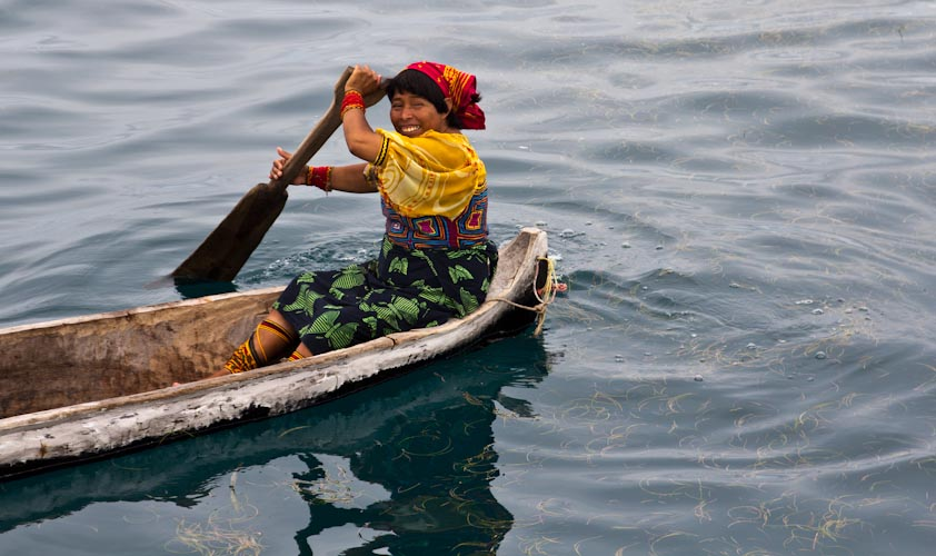 Panama: San Blas - KUNA people2