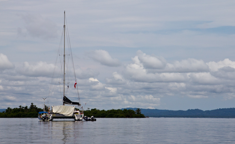 Panama: Carti - Catamaran Fritz the Cat