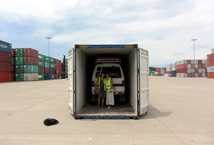 Panama: Colon -  Container Loading