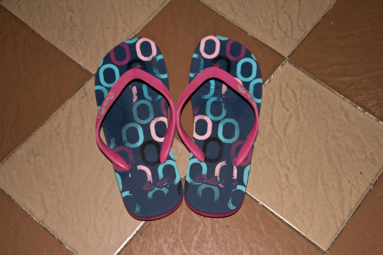 Panama: Panama City - New Flip Flops