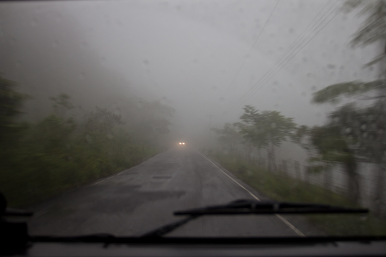 Panama: central mountains - bad weather2