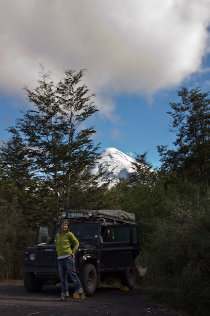 Chile: Lake District - NP Petrohue: nice Campspot