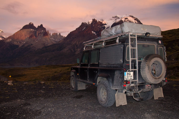 Chile: NP Torres del Paine - what a campspot