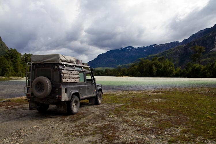 Chile: Carretera Austral - Valle Exploradores: Time for a break