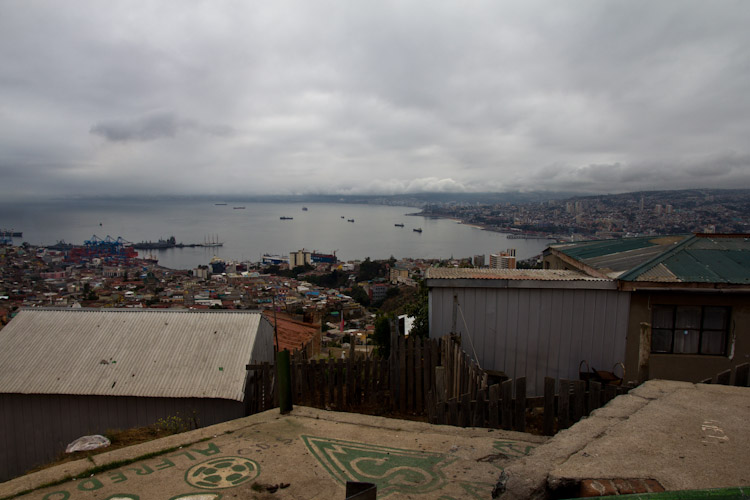 Chile: Valparaiso in summer ...