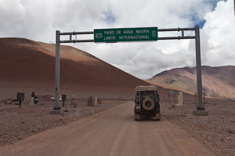 Chile: Paso Agua Negra - Goodbye the third time