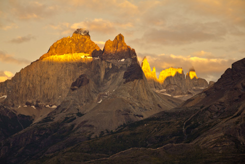 NP Torres del Paine (Cuernos in sunrise)