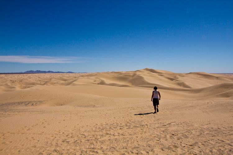 Imperial Dunes in California